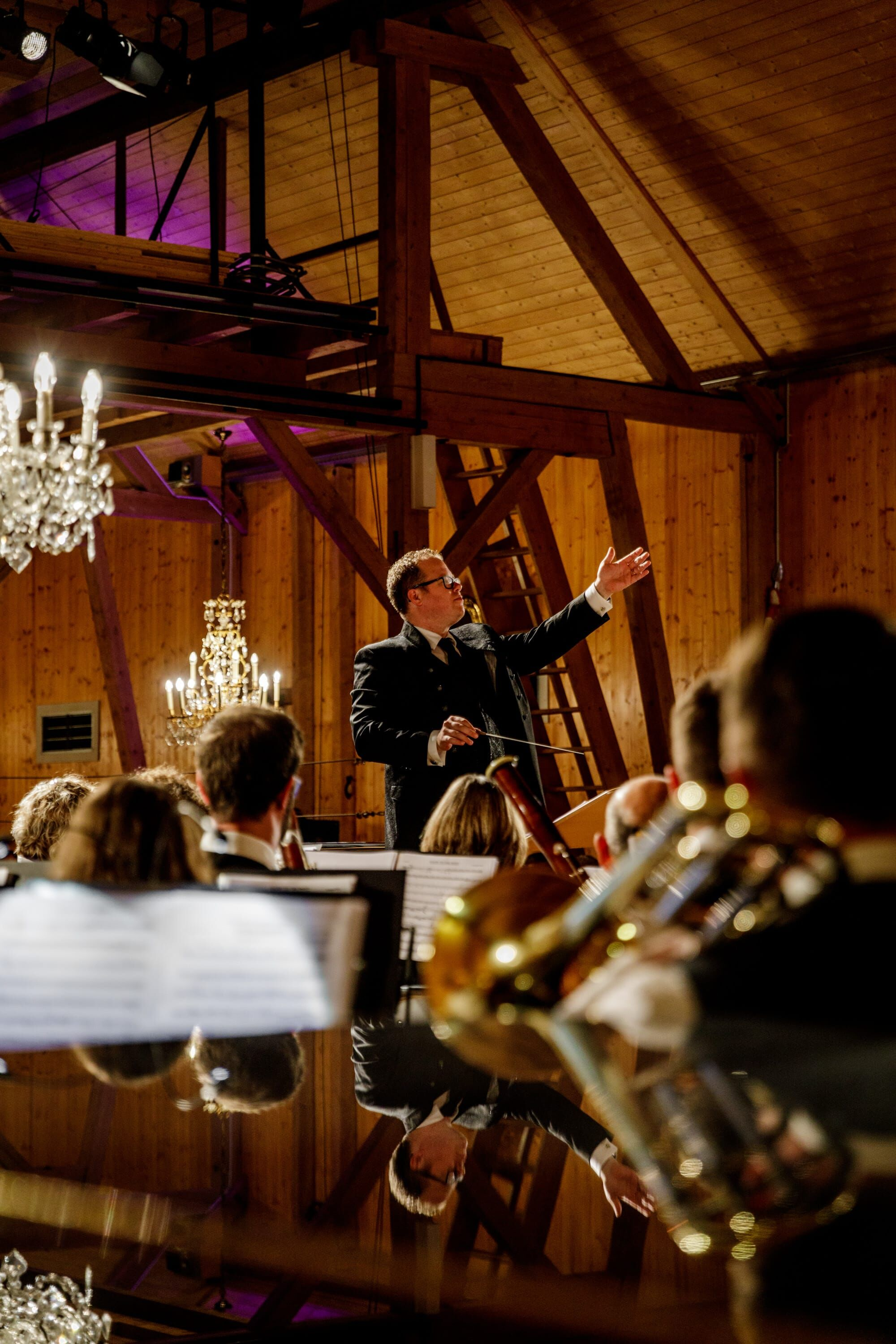 Stafan Roth am Konzert Symphonia Summernight