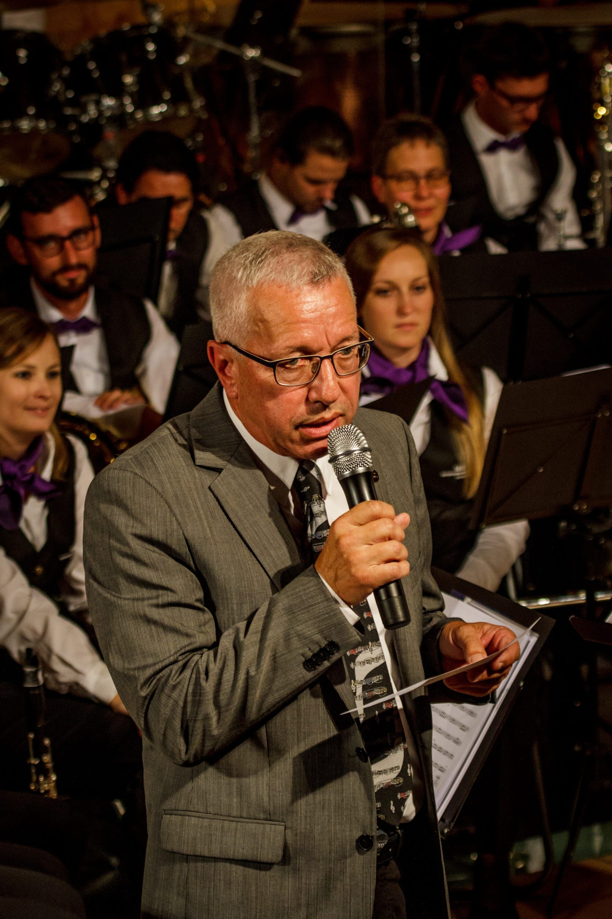 Ansage am Konzert Symphonia Summernight