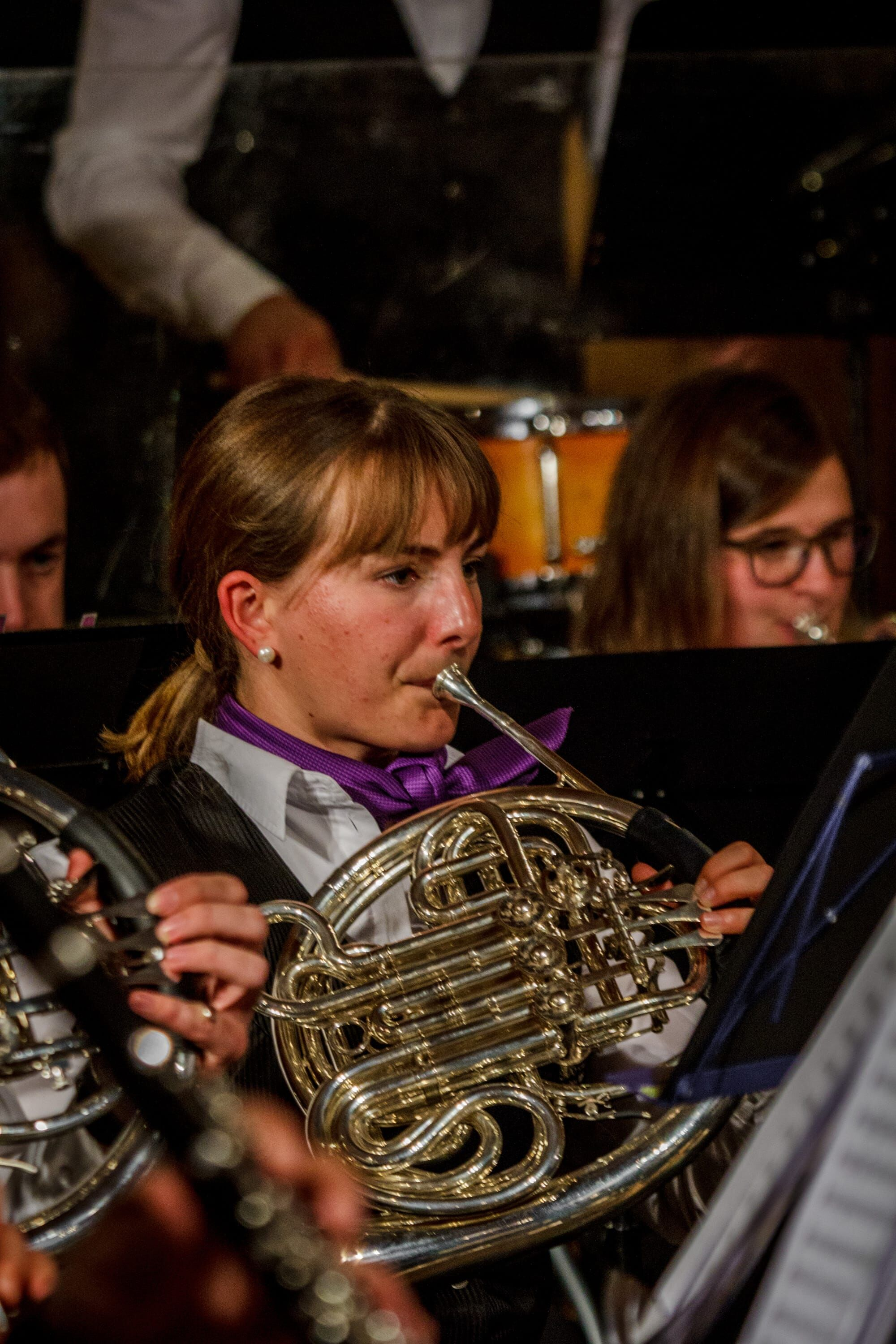 Waldhorn Register am Konzert Symphonia Summernight